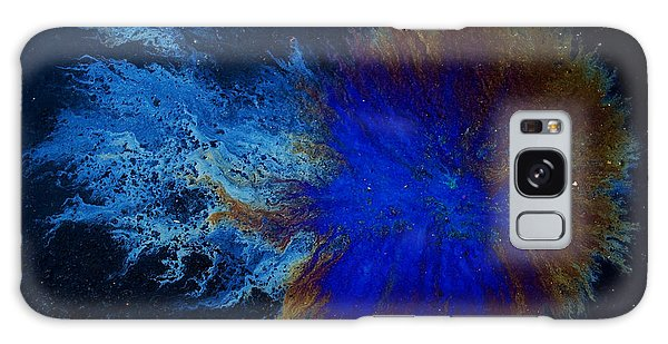 Oil On Pavement Cradle Of The World Galaxy Case