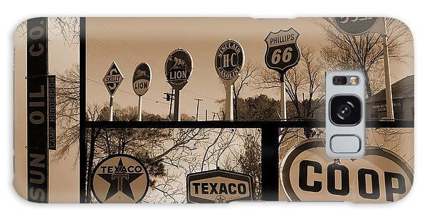 Oil Sign Retirement Galaxy Case by Betty Northcutt