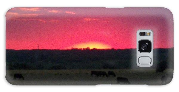 Okie Sunset Galaxy Case