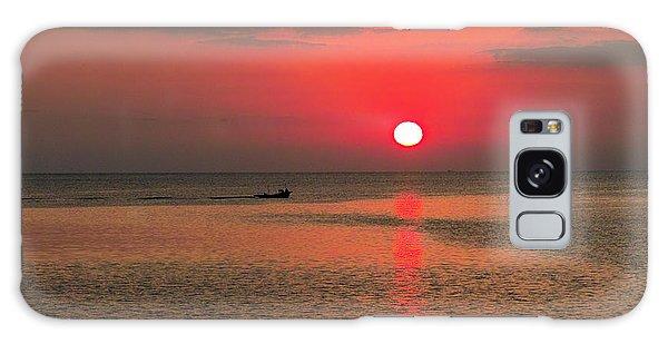 Okinawa Sunset Galaxy Case