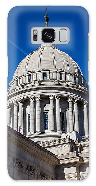 Oklahoma State Capitol Dome Galaxy Case by Doug Long
