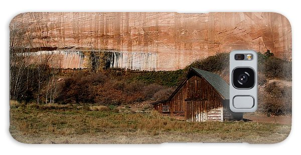 Old Barn In Angel Canyon #1  Galaxy Case by Nola Lee Kelsey