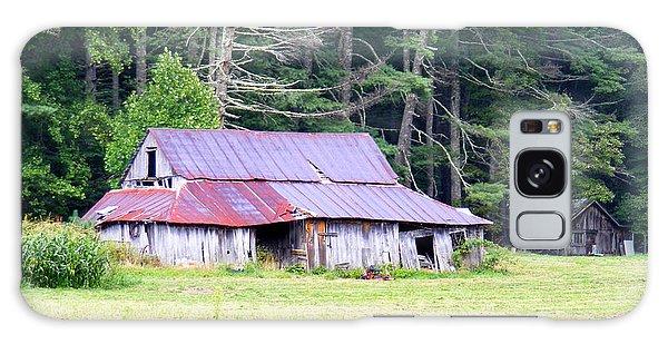 Old Barn Near Cashiers Nc Galaxy Case