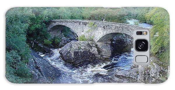 Old Bridge At Invermoriston Galaxy Case