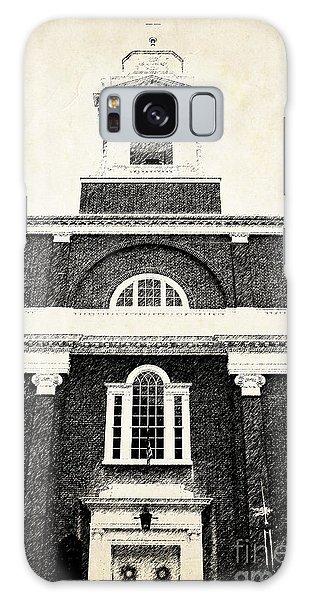 Brick House Galaxy Case - Old Church In Boston by Elena Elisseeva