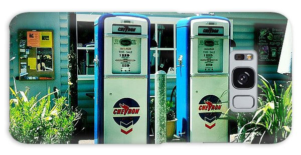Old Fashioned Gas Station Galaxy Case