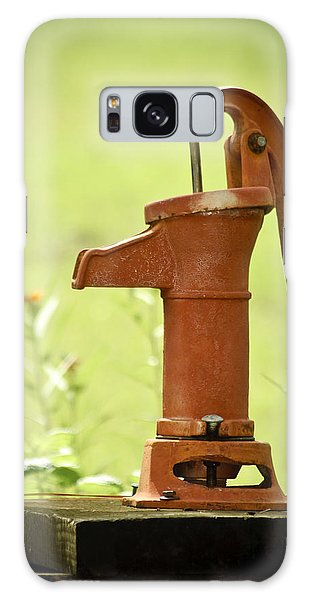 Old Fashioned Water Pump Galaxy Case