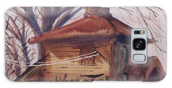 Old Garage Galaxy Case by Rod Ismay