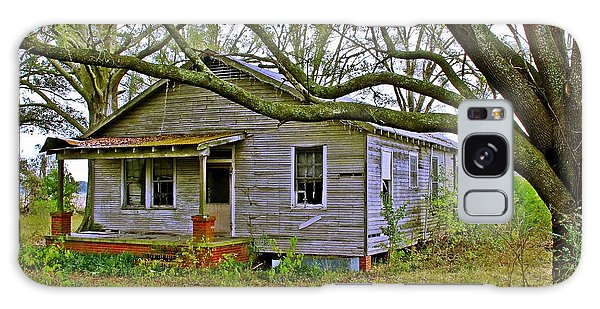 Old Gray House Galaxy Case by Judi Bagwell