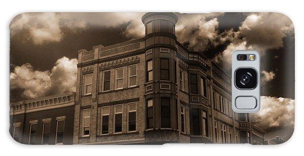 Old Menominee Corner Store Building Galaxy Case