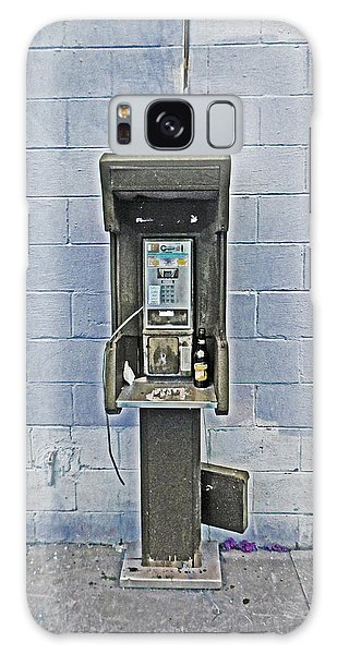 Old Pay Phone In New Orleans Galaxy Case
