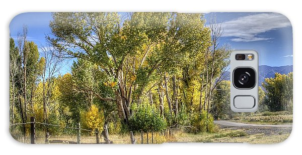 Old Ranch Near Bishop Galaxy Case by Michele Cornelius