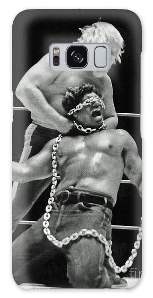 Old School Wrestling Chain Match Between Moondog Mayne And Don Muraco Galaxy Case