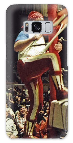 Old School Wrestling From The Cow Palace With Moondog Mayne Galaxy Case by Jim Fitzpatrick