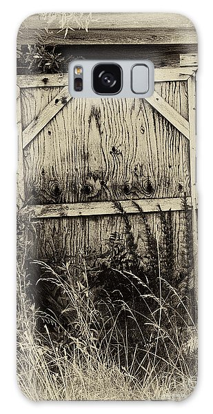 Old Shed Door Galaxy Case by Eva Thomas