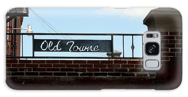 Old Towne Sign Galaxy Case