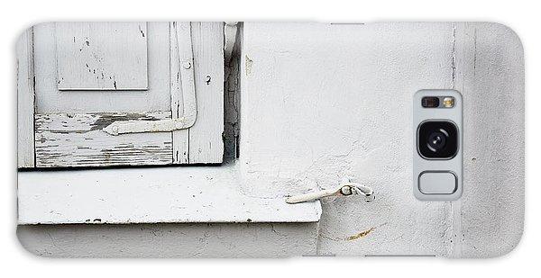 Old Window Shutters Detail Galaxy Case