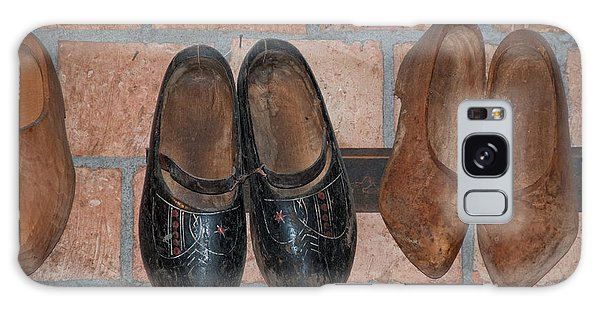 Old Wooden Shoes Galaxy Case by Carol Ailles