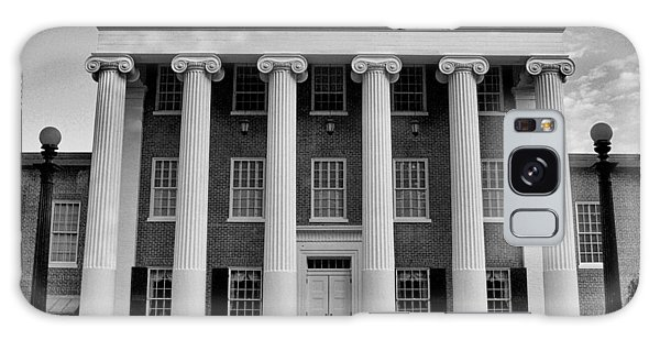 Ole Miss Lyceum Black And White Galaxy Case