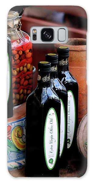 Olives And Olive Oil Galaxy Case