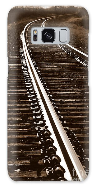 On The Right Track Galaxy Case
