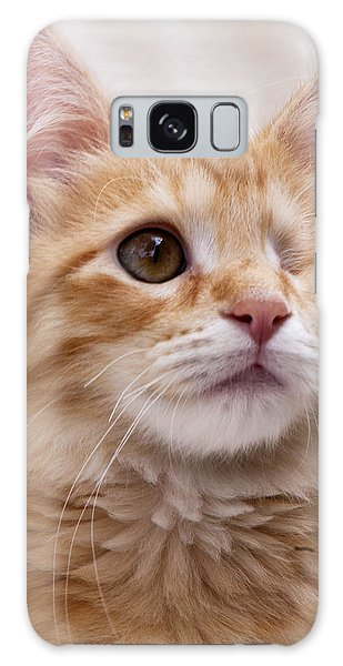 One Eye Willie 2 Galaxy Case by John Crothers