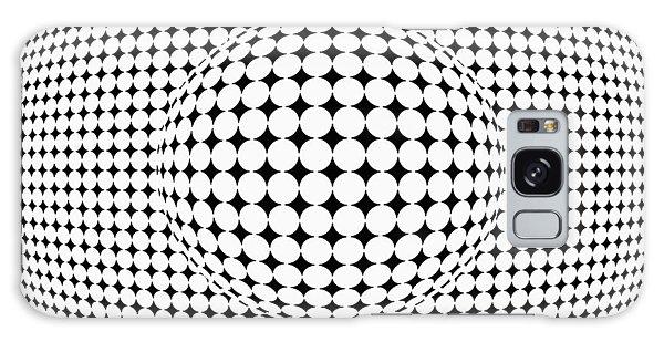 Optical Illusion Ball In Ball Galaxy Case