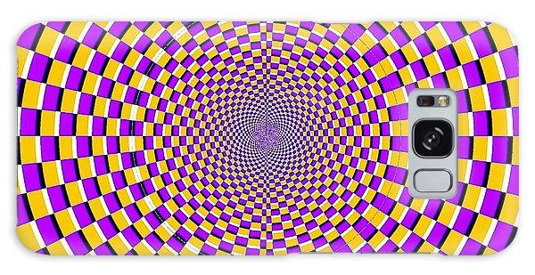 Optical Illusion Moving Cobweb Galaxy Case