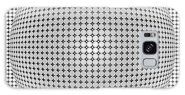 Optical Illusion Plastic Ball Galaxy Case