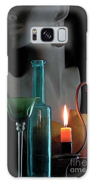 Orange Candle Galaxy Case