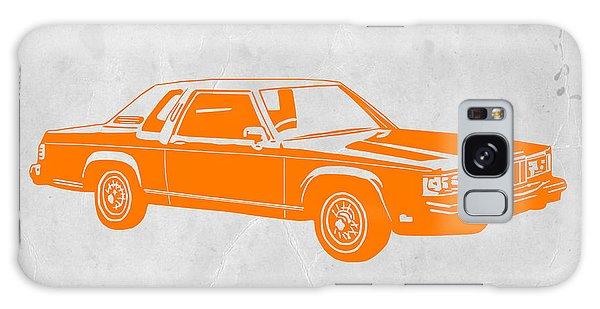 Old Car Galaxy Case - Orange Car by Naxart Studio