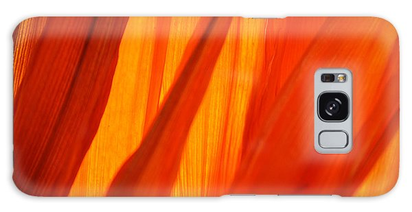Orange Sunshine Galaxy Case by Bobby Villapando