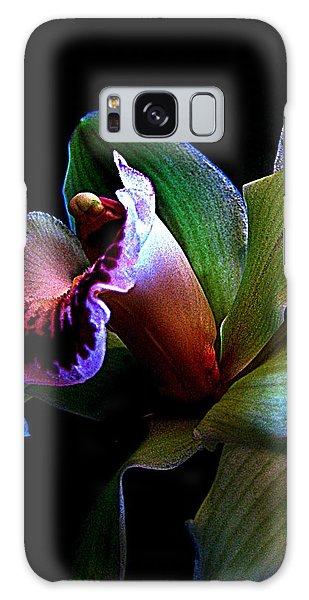 Orchid Gem Galaxy Case by Shirley Sirois