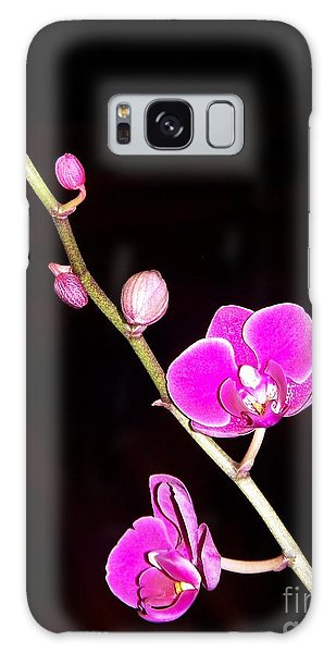 Orchid Galaxy Case by Sylvie Leandre