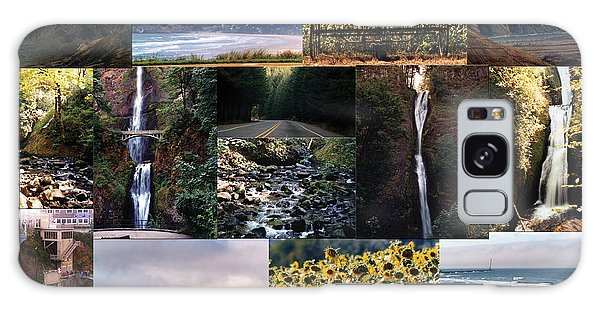 Oregon Collage From Sept 11 Pics Galaxy Case by Maureen E Ritter
