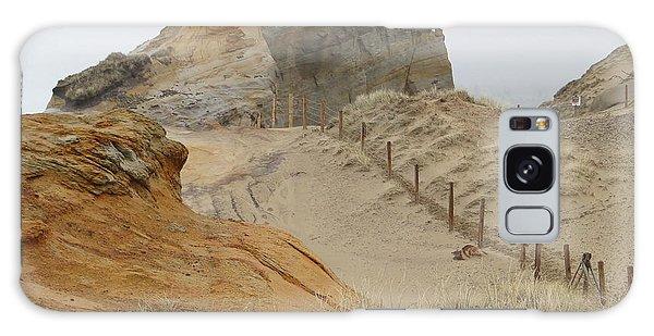 Oregon Sand Dunes Galaxy Case by Athena Mckinzie