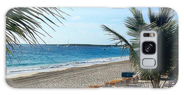 Orient Beach St Maarten Galaxy Case by Catie Canetti