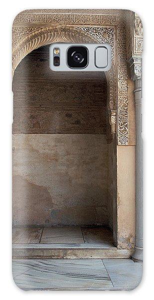Ornate Arch And Pillar Galaxy Case