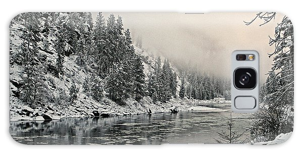 Orofino Snow Clearwater River Galaxy Case