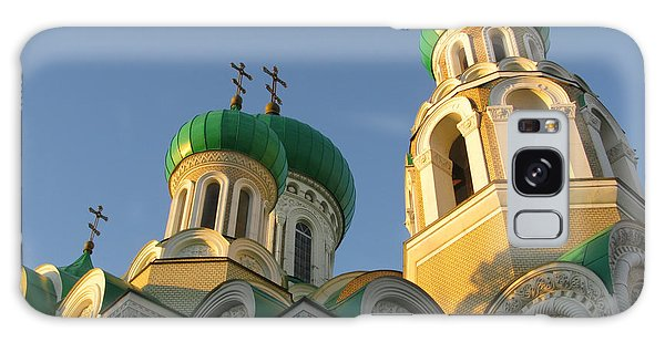 Orthodox Church Of Sts Michael And Constantine- Vilnius Lithuania Galaxy Case by Ausra Huntington nee Paulauskaite