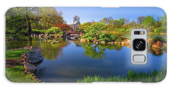 Osaka Garden Pond Galaxy Case