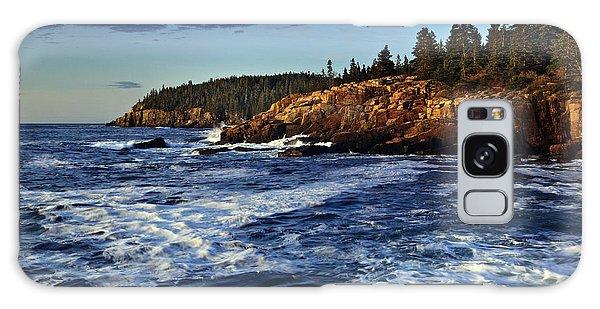 Otter Rock Galaxy Case - Otter Cliffs by Rick Berk