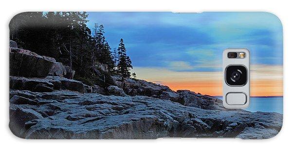 Otter Galaxy Case - Otter Point At Dawn by Rick Berk