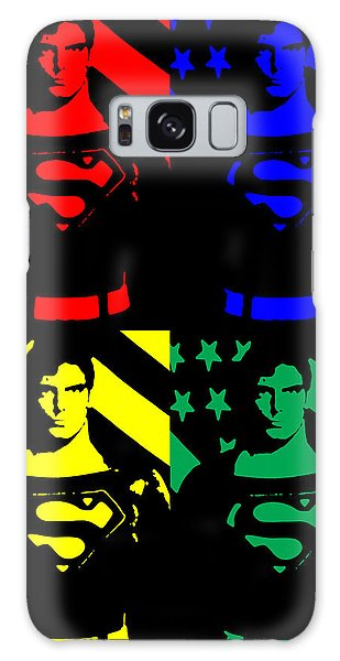 Our Man Of Steel Galaxy Case by Saad Hasnain
