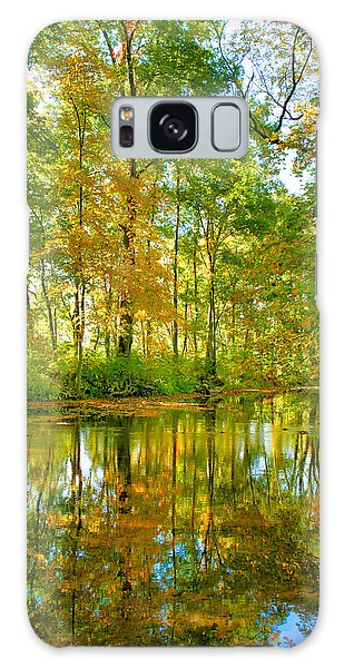 Owens Creek In Autumn I Galaxy Case