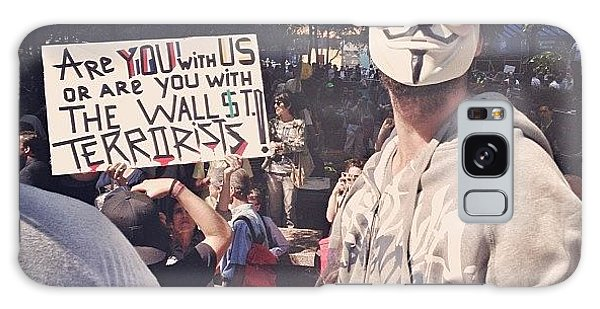 Summer Galaxy Case - Ows Occupy Wall Street by Randy Lemoine