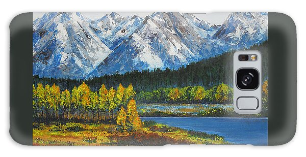 Oxbow-grand Tetons  Galaxy Case
