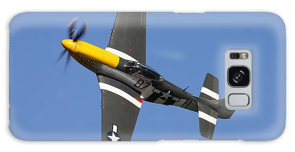 P51 Mustang Cadillac Of The Skies Galaxy Case by Ken Brannen