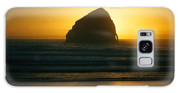 Pacific City Sunset Galaxy Case