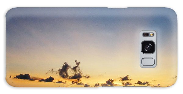 Padre Island National Seashore Galaxy S8 Case - Padres Island Tx Sunset by Lizi Beard-Ward